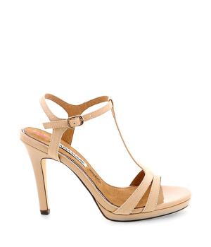 bc936af0d570 Béžové páskové sandály MARIA MARE - Boty